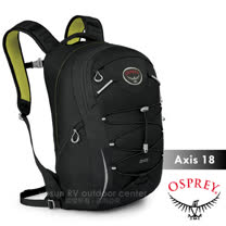 【美國 OSPREY】Axis 18L 城市穿梭電腦背包. 24seven全天候系列後背包.電腦包.書包/出差.健行.旅行.跑步/黑