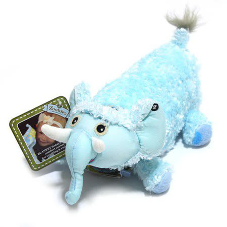 Zoobies 三合一毛毯寵物玩偶-大象BABY