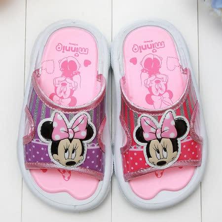 【童鞋城堡】Disney迪士尼專櫃鞋款米妮拖鞋{台灣製造}350772