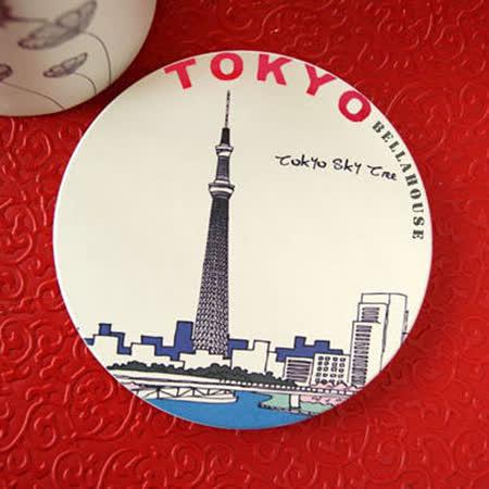 神奇吸水杯墊~日本 晴空塔