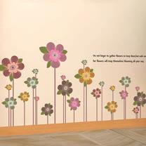 時尚壁貼 -  美麗花兒