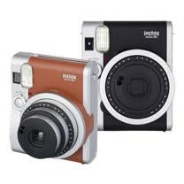 FUJIFILM Instax mini 90 拍立得相機(恆昶公司貨)-加碼送卡通軟片2盒(隨機)+FUJI 小相本+底片保護套(20張)