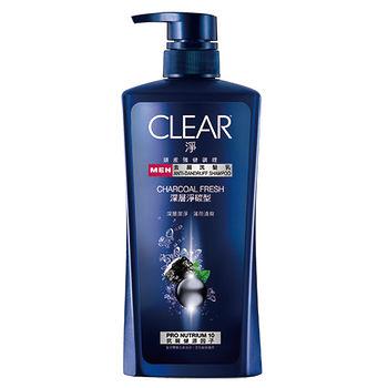 CLEAR淨男性洗髮乳-深層淨碳750ml