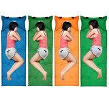 PUSH! 加厚3D弧形枕頭自動充氣可調整枕頭高度睡墊