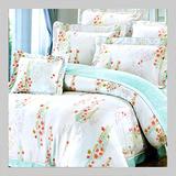 花蔓風舞.100%天絲.超柔觸感.加大雙人床罩組全套.全程臺灣製造
