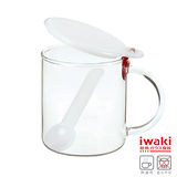 【iwaki】耐熱玻璃調味罐 500ml(糖)