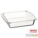【iwaki】玻璃微波蛋糕烤盤 1.1L