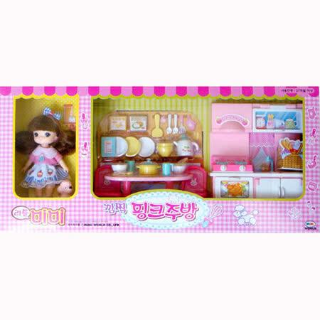【MIMI WORLD -家家酒系列】迷你MIMI粉紅廚房