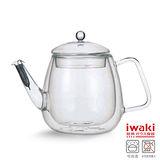 【iwaki】雙層耐熱玻璃沖茶器 600ml