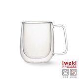 【iwaki】雙層耐熱玻璃馬克杯 250ml