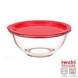 【iwaki】玻璃微波碗 1.5L(紅)