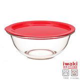 【iwaki】玻璃微波碗 2.5L(紅)
