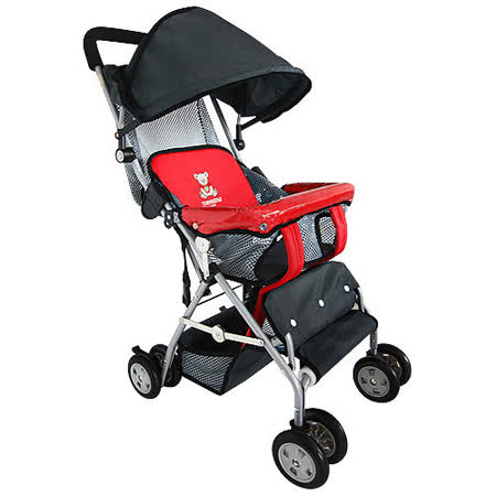 【TONYBEAR】可揹式嬰兒三用背架推車-紅色