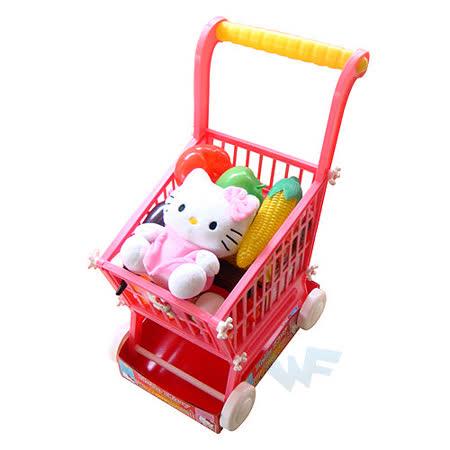 【Hello Kitty-家家酒系列】KT超級市場推車