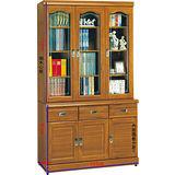 顛覆設計 麗卡貝 正樟木4尺書櫃
