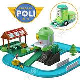 【POLI 變形車系列】資源回收站 (內附克里尼) RB83155