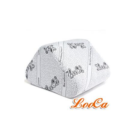 【LooCa】竹炭紗萬用三角靠墊1入