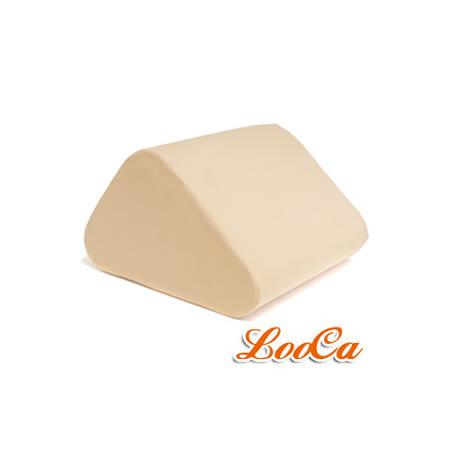 【LooCa】類麂皮萬用三角靠墊1入