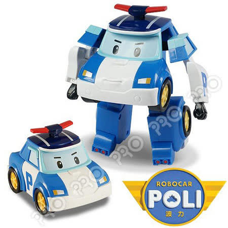 【POLI 變形車系列】變形波力 RB83171
