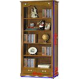 顛覆設計 安娜 3尺開放式書櫃(茶色)