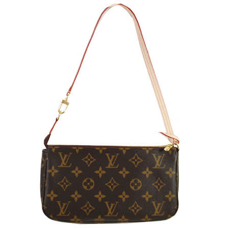 Louis Vuitton LV M40712 新款Monogram 經典花紋長揹帶肩提包.預購