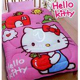 Hello Kitty【可愛蘋果屋】 暖暖毯被