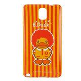 B‧Duck 黃色小鴨 Samsung Galaxy Note3 造型浮雕圖案晶鑽保護套 -小鴨叔叔