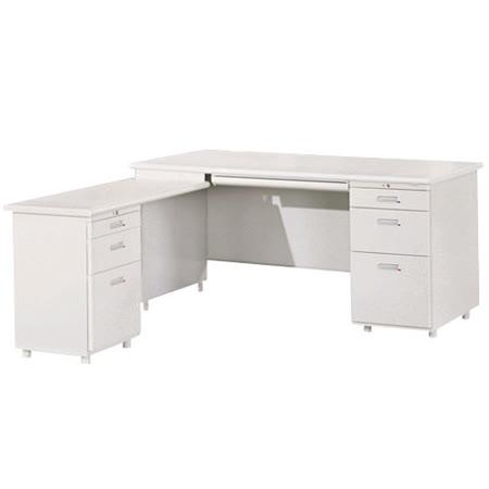 HAPPYHOME L型辦公桌組Y102-3