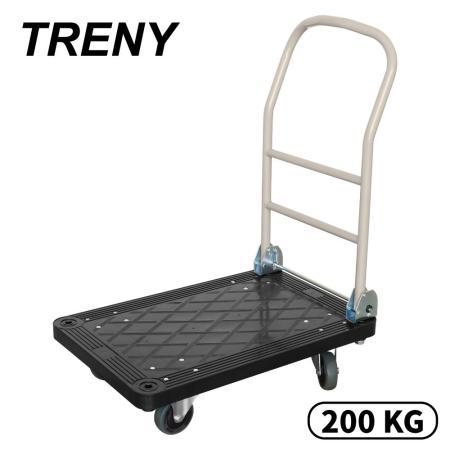TRENY- 強化塑鋼手推車-200kg-8678