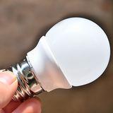 高亮度LED4W圓球燈泡(黃光)