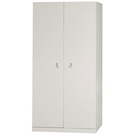 HAPPYHOME 開門雙人鋼製衣櫃Y104-4