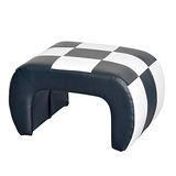 ㄇ字造型椅(黑/白色) 量身打造的兒童成長沙發椅