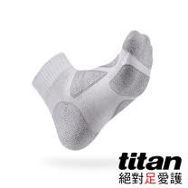 Titan功能慢跑襪-Eco/灰竹炭