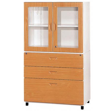 HAPPYHOME 鋼木牆櫃(3*5尺)Y108-4兩色可選