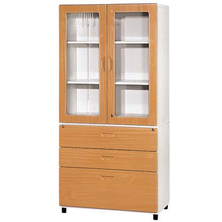 HAPPYHOME 鋼木牆櫃(3*6尺)Y108-7兩色可選