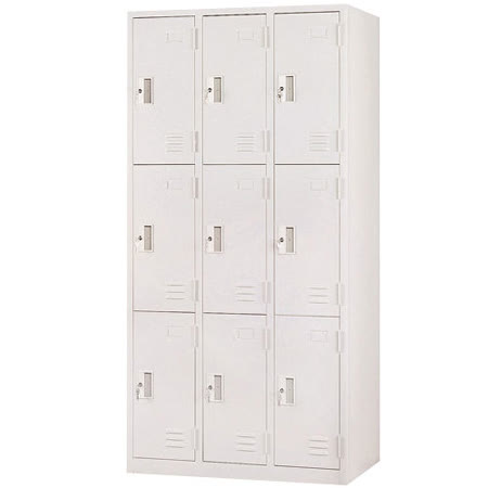 HAPPYHOME 9人鋼製衣櫃Y119-6