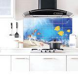 DECOIN 廚房鋁箔壁貼-海底世界1入 (HS-AL12)