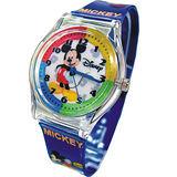 米奇微笑漾藍手錶