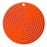 【LE CREUSET】耐熱矽膠隔熱墊 Silicon Hot Pad (火焰橘)