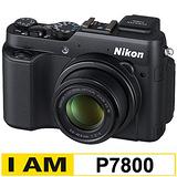 Nikon COOLPIX P7800 新翻轉類單眼(公司貨)-加送32G C10卡+原廠電池+UV保護鏡+專用遙控器+HDMI+中腳架+清保組+讀卡機+桌上型小腳架
