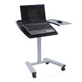 現代亮面筆記型升降電腦桌/升降桌