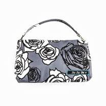 【美國JuJuBe媽媽包】BeQuick手拿包-Charcoal Roses 凡爾賽花園-典雅新色上架