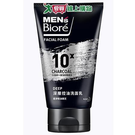 蜜妮MEN'S Biore控油去角質洗面乳100g