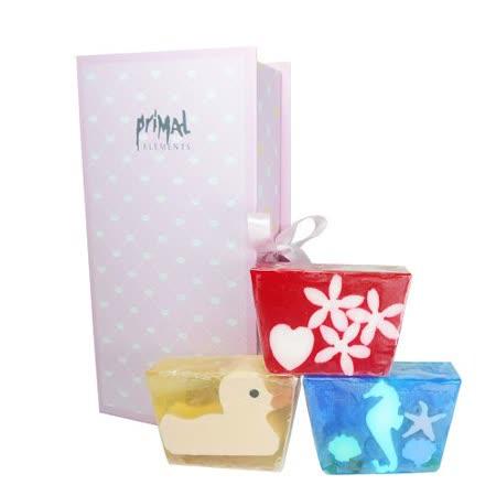草本24手工潤膚皂3件組禮盒