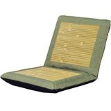 【戀香】五段式小花竹編透氣中和室椅(綠)