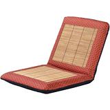 【戀香】五段式小花竹編竹碳中和室椅(紅)