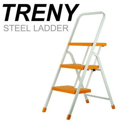 TRENY 台製橘色三階扶手梯-3482