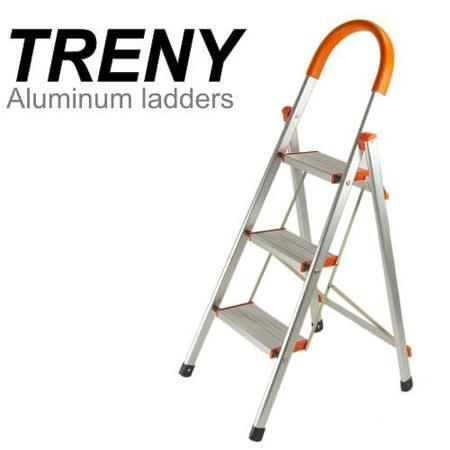 TRENY 加寬鋁製三階扶手梯-4632