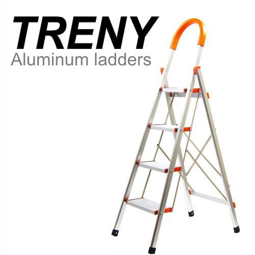 TRENY 加寬鋁製四階扶手梯~4649