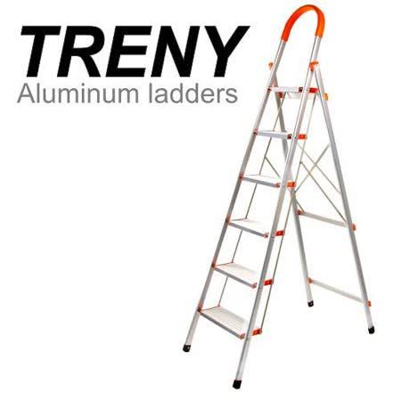 TRENY 加寬鋁製六階扶手梯-8487